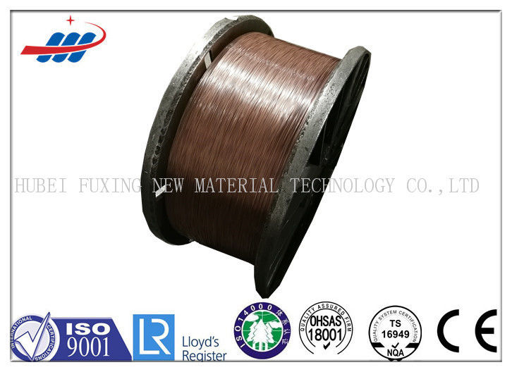 Corrosion Resistance Copper Coated Steel Wire 1.0mm Dia For Hose Reinforcement