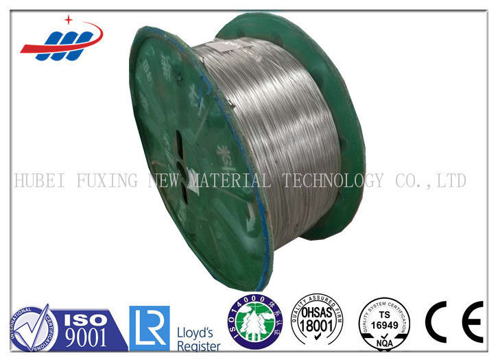 High Tensile Galvanized Steel Wire Thick Zinc Coating For Flexible Duct And Pipe
